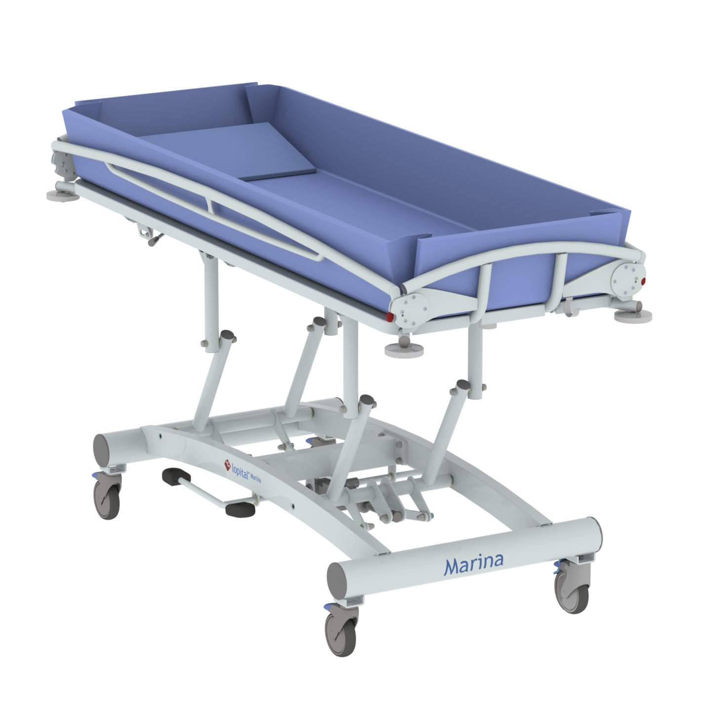 care bathing height equipment the yorkshire hydraulic shower p timo adjustable trolley